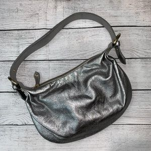 Cynthia Rowley Silver Metallic Mini Shoulder Bag